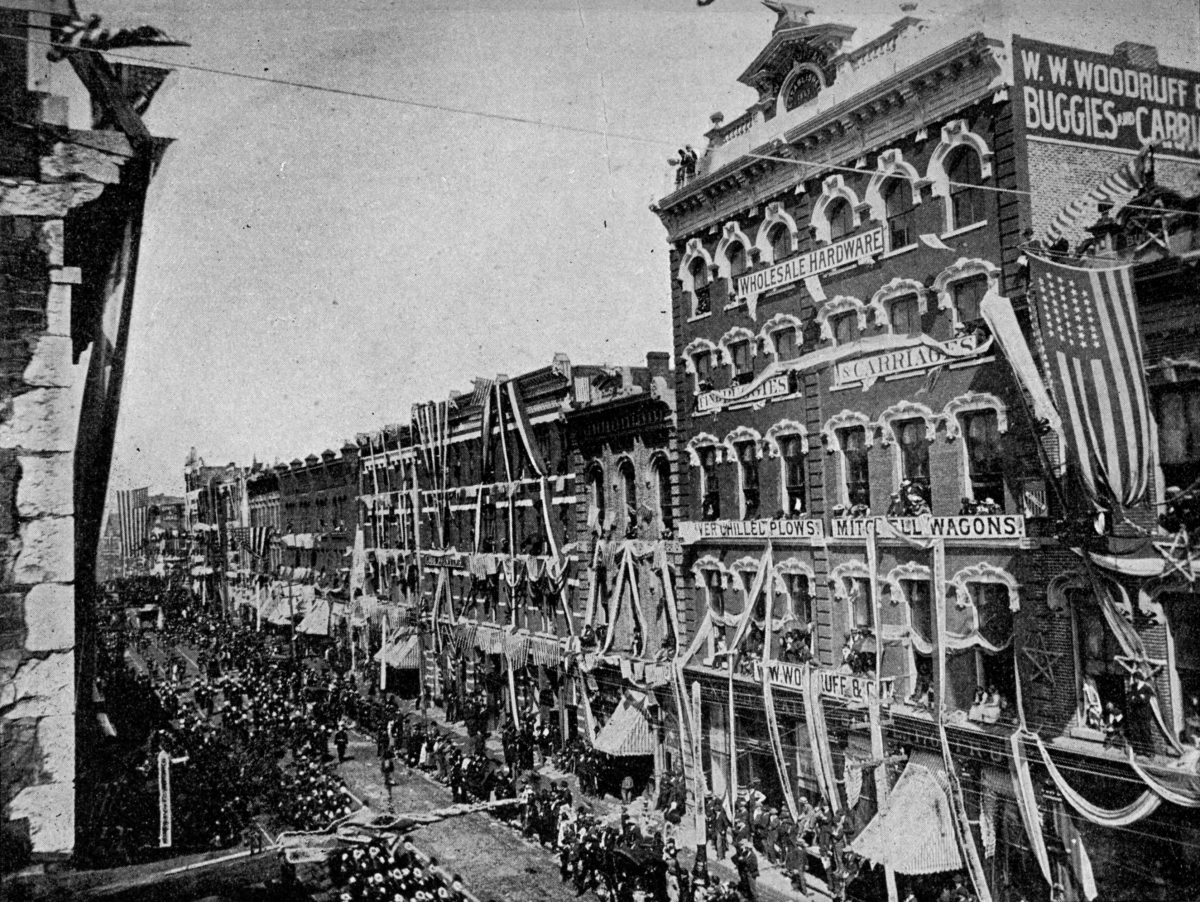 Blue and Gray Parade, Knoxville, TN, October 7, 1890