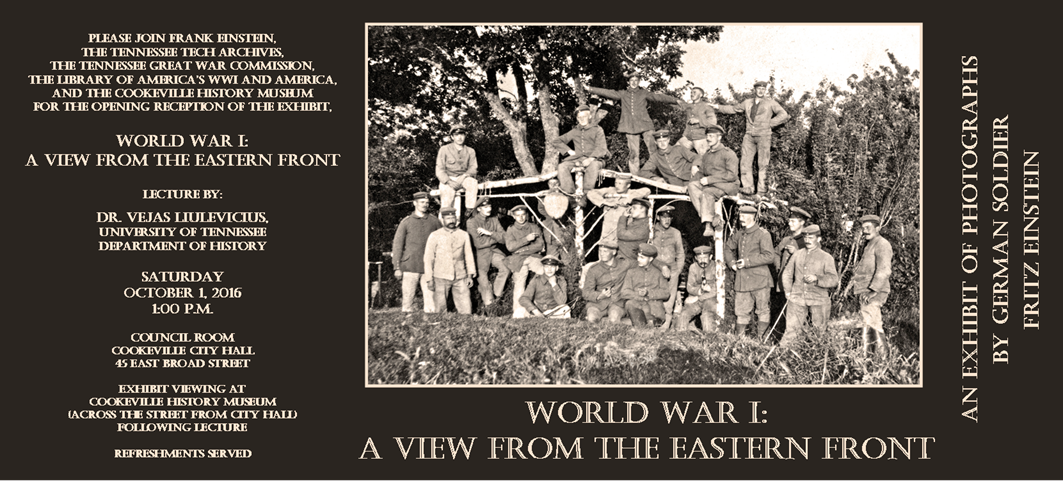 World War I A View From The Eastern Front Exhibit