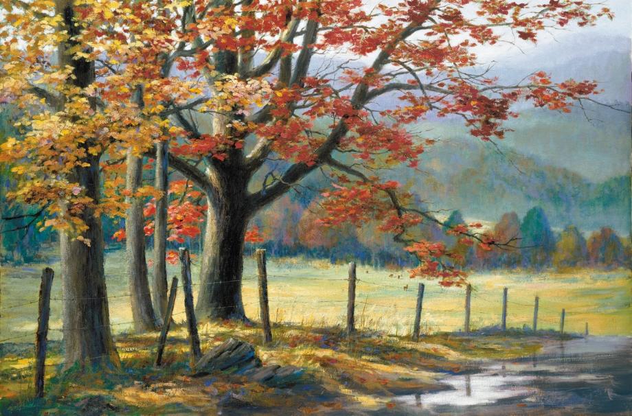 ArtStation - Secret Cove, Blake Rottinger |Painting Artist Directory Cove